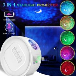 Kyпить 3in1 Rechargeable LED Galaxy Starry Projector Star Moon Night Light Sky Lamp USB на еВаy.соm