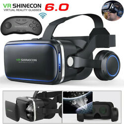 Kyпить VR Headset Version Virtual Reality Glasses Remote Controller For iPhone Samsung на еВаy.соm