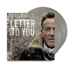 Kyпить Bruce Springsteen - Letter To You Limited Grey Indie Excl (2020 - EU - Original) на еВаy.соm