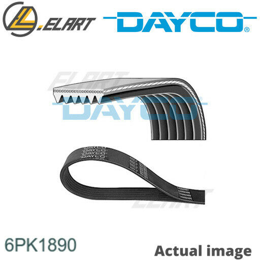 LituanieV-RIBBED BELTS FOR VAUXHALL SAAB ASTRA MK VI J ESTATE A 20 DTH A 20 DTR DAYCO