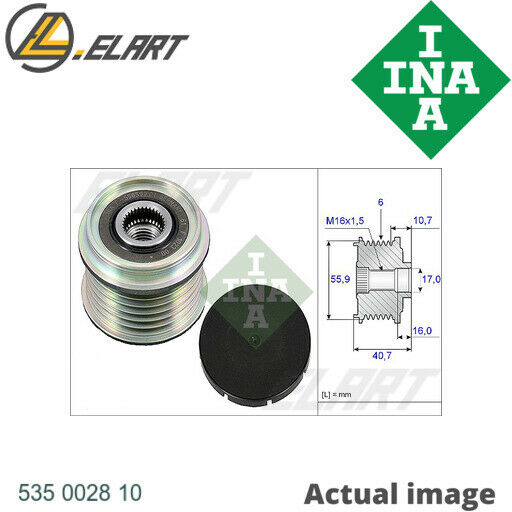 LituanieFREEWHEEL ALTERNATOR CLUTCH PULLEY FOR VOLVO RENAULT  S40 I VS D 4192