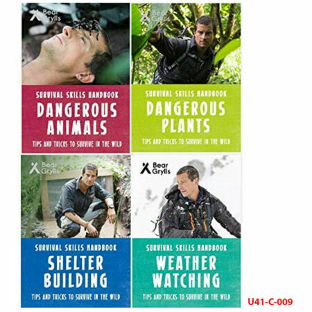 img-Bear Grylls Survival Skills Handbook Collection 4 Books Set NEW