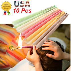 Kyпить 10pcs Ear Wax Cleaner Removal Fragrance Candles Hollow Healthy Care Set Hopi Kit на еВаy.соm