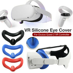 Kyпить Silicone for Oculus Quest 2 VR Headset Glasses Mask Cover Helmet Eye Mask Cover на еВаy.соm