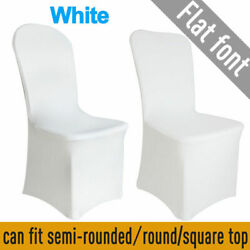 Kyпить 100PCS Spandex Stretch Chair Covers White for Wedding Party Banquet Decoration на еВаy.соm