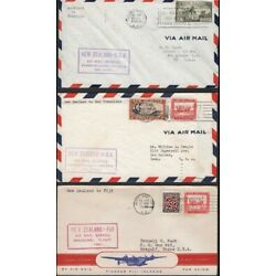Kyпить NEW ZEALAND, 1940-66. First Flight Covers (6), Honolulu,  Fiji, Hong Kong на еВаy.соm