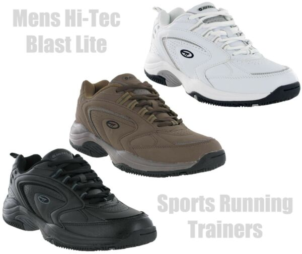 Royaume-UniHi-Tec  Lite Léger à Lacets SPORTS Gym Comfort Baskets Hommes UK7-15