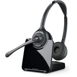 Kyпить Plantronics CS520 Binaural Wireless Headset System, Black/Silver на еВаy.соm