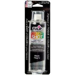 Kyпить Tulip ColorShot Instant Fabric Color 3oz dyeing desing Spray Paint Black USA на еВаy.соm