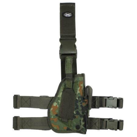img-MFH Military Style Tactical Drop Leg Holster Airsoft Security Army Mfh 30725V