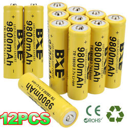 Kyпить 10 Pack Rechargeable 9900m Battery 3.7V Li-ion Batteries for Flashlight.Headlamp на еВаy.соm