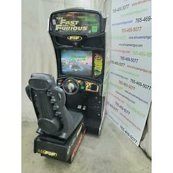 Kyпить Fast and the Furious by Raw Thrills COIN-OP Sit-Down Driving Arcade Video Game на еВаy.соm