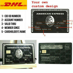 Kyпить American Express Centurion Black Card Customise your own Amex Metal w/ chip SALE на еВаy.соm