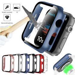 Kyпить Full Screen Protector 3D Cover Hard Case For iWatch Apple Watch Series 4/5/6/SE  на еВаy.соm