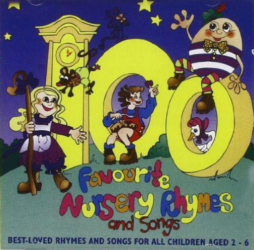GroßbritannienVarious Artists-100 Favourite  Rhymes and Songs CD NEU