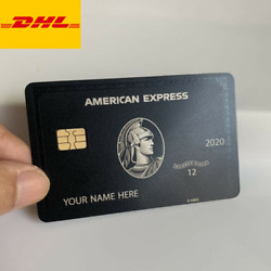 Kyпить Metal Black Card Customize Your Own American Express Centurion Personalised AMEX на еВаy.соm