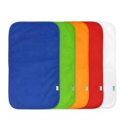 Kyпить Green Sprouts Stay Dry Burp Cloths (5 Pack) Blue Set-New Baby Essentials на еВаy.соm