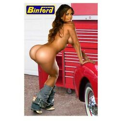 Kyпить Sexy Tool Box Magnet Binford Tools playmate sweet ass tool time girl на еВаy.соm