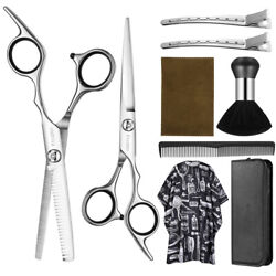 Kyпить 9 IN 1 Professional Hair Cutting Thinning Scissor Barber Shears Hairdressing Set на еВаy.соm