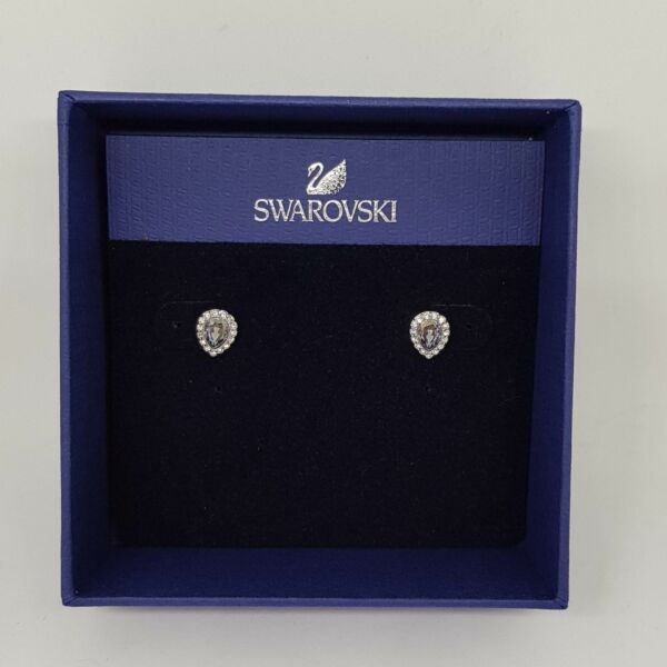 Burgwedel,DeutschlandSwarovski Ohrstecker Christie Pear Tropfen Ohrringe Earrings Rhodiniert 5113783