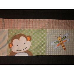 Kyпить Lambs & Ivy Green Jungle Valance Monkey Alligator Turtle Dragonfly на еВаy.соm