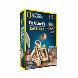 National Geographic Da Vinci's Inventions Catapult, STEM Toy for Children