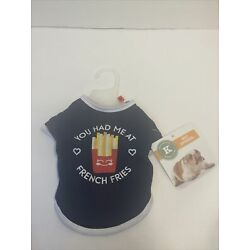 American Kennel Club Pet Apparel Small  You Had Me At French Fries