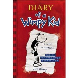 DIARY OF A WIMPY KID, BOOK 1 , Hardcover , Kinney, Jeff