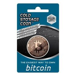 Kyпить Bitcoin Cold Storage Coin Wallet 1 Ounce .999 Fine Copper на еВаy.соm