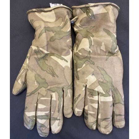 img-British Military MTP Leather Combat Gloves - Size 8
