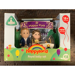 ELC HappyLand William Kate baby Playmat Vehicle Figures Childrens Toy NEW