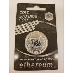 Kyпить 1OZ .999 PURE SILVER ETHEREUM Cold Storage Coin Crypto ETH Wallet на еВаy.соm