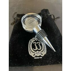 Kyпить Club 33 Glass And Pewter Bottle Stopper на еВаy.соm
