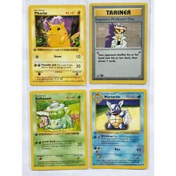 Kyпить Pokemon Base 1st Edition Singles 16-102 READ BELOW Combined Shipping на еВаy.соm