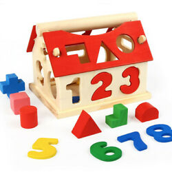 Kyпить Wooden Puzzle Block Children Kids Early Learning Educational Game Toy Gift на еВаy.соm