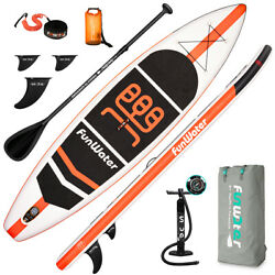 Kyпить 11' Inflatable Stand Up Paddle Board Surfboard SUP Paddelboard with complete kit на еВаy.соm