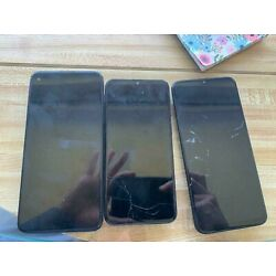 Kyпить lot of 3 phones: Motorola Moto G Stylus- works, A10e and A21 cracked read на еВаy.соm
