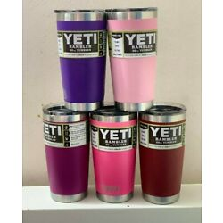 Kyпить YETI Rambler 20 oz Tumbler, Stainless Steel, Vacuum Insulated with MagSlider Lid на еВаy.соm
