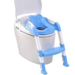 Blue Step Trainer for Kids and Toddlers Training Seat