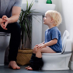 Kyпить Nuby My Real Potty Training Toilet with Life-Like Flush Button & Sound for Toddl на еВаy.соm