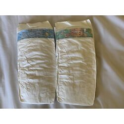 "Kyпить ""Rare"" Vintage 2001 Pampers Baby dry Size 6 Diapers Sample Of 2 на еВаy.соm"