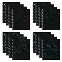 Kyпить  Spiral Notebooks, 1 Subject, College Ruled Paper, 100 Pack of 12 Assorted на еВаy.соm