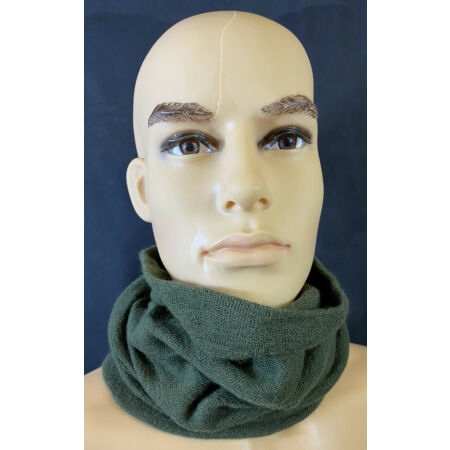 img-British Military Olive Green Headover Snood Scarf