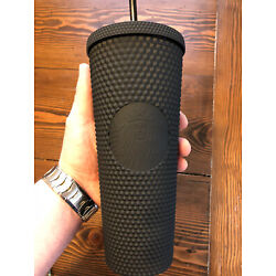 Kyпить NEW Starbucks LIMITED EDITION 24 oz Matte Black Studded Tumbler Cup ONE DAY SALE на еВаy.соm