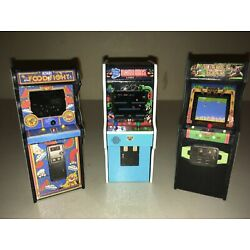 Kyпить 2 Replica Miniature Arcade 1:18 by Justin Whitlock (Food Fight & Jungle King) на еВаy.соm