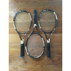 Kyпить THREE Head Graphene XT Speed Pro Tennis Racquets 100 sq in 4 3/4 grip BUNDLE LOT на еВаy.соm