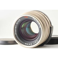 Kyпить [MINT]  Contax Carl Zeiss T* Planar 45mm f2 AF Lens For G1 G2 From Japan на еВаy.соm