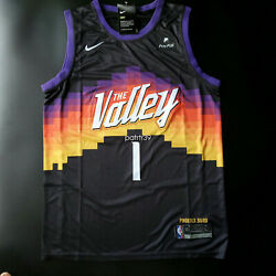 Kyпить Devin Booker 1 THE Valley City Edition Men's Jersey Size L  NWT на еВаy.соm