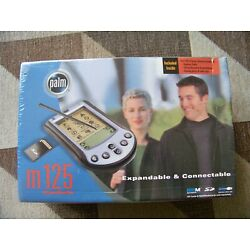 Kyпить NEW SEALED Palm M125 Handheld Expandable & Connectable PDA 340-3371A-US FAST SHP на еВаy.соm