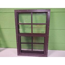 Kyпить Shed Window 14 x 21 with 4 x 4 grid --Flush or J-lap , Brown or White на еВаy.соm